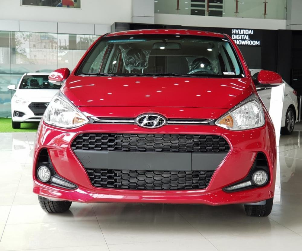 Hyundai Grand i10 2018, giao ngay, hỗ trợ trả góp 80%, hỗ trợ đăng ký Grab, taxi LH: 0981476777-10