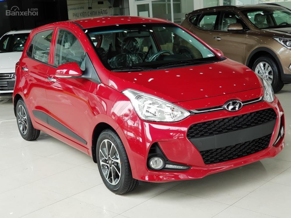 Hyundai Hà Đông hỗ trợ mua xe Hyundai Grand i10-trọn gói chỉ với 100tr, xe đủ màu giao ngay trong ngày-LH 0981476777-9