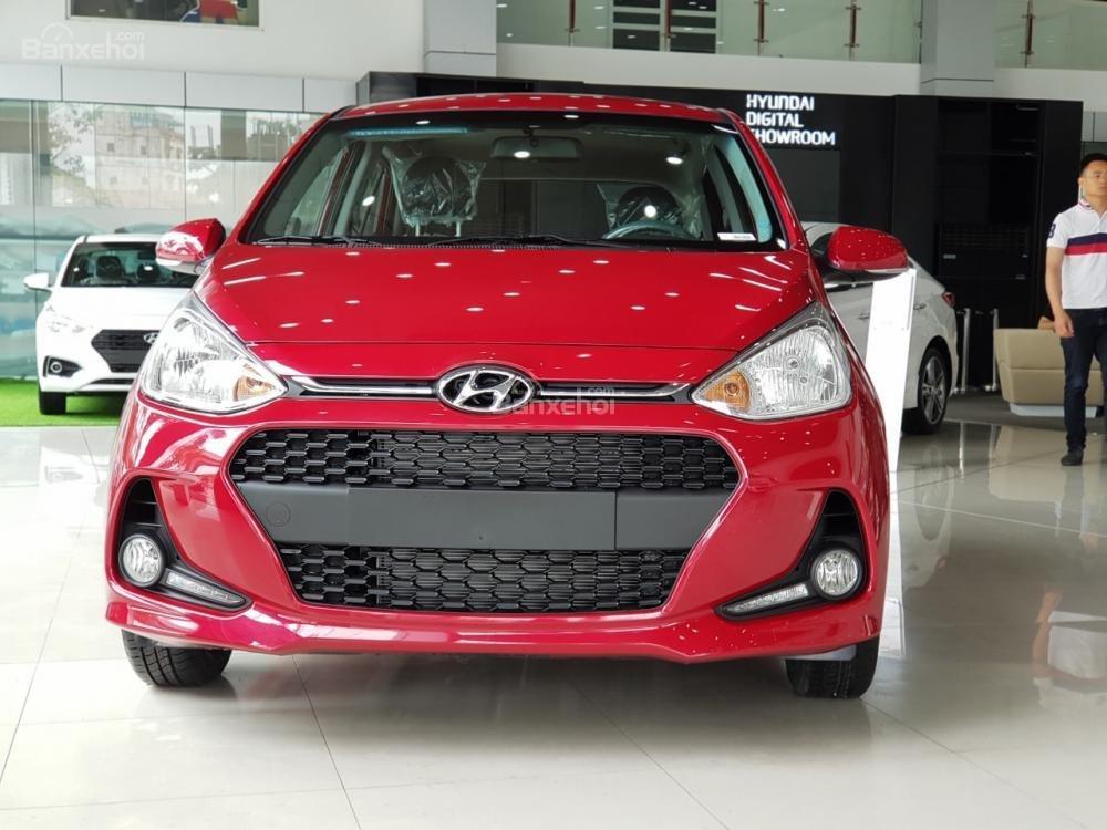 Hyundai Grand i10 2018, giao ngay, hỗ trợ trả góp 80%, hỗ trợ đăng ký Grab, taxi LH: 0981476777-11