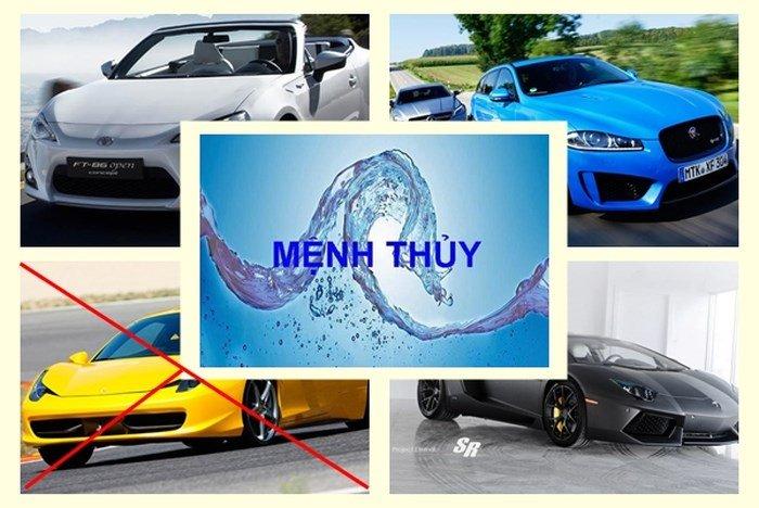 Người mệnh Thủy hợp mua xe ô tô màu gì? 2.