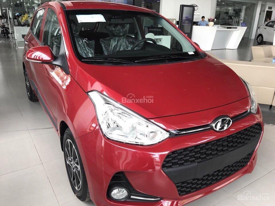 Bán xe Hyundai Grand i10 đời 2019, màu đỏ (1)