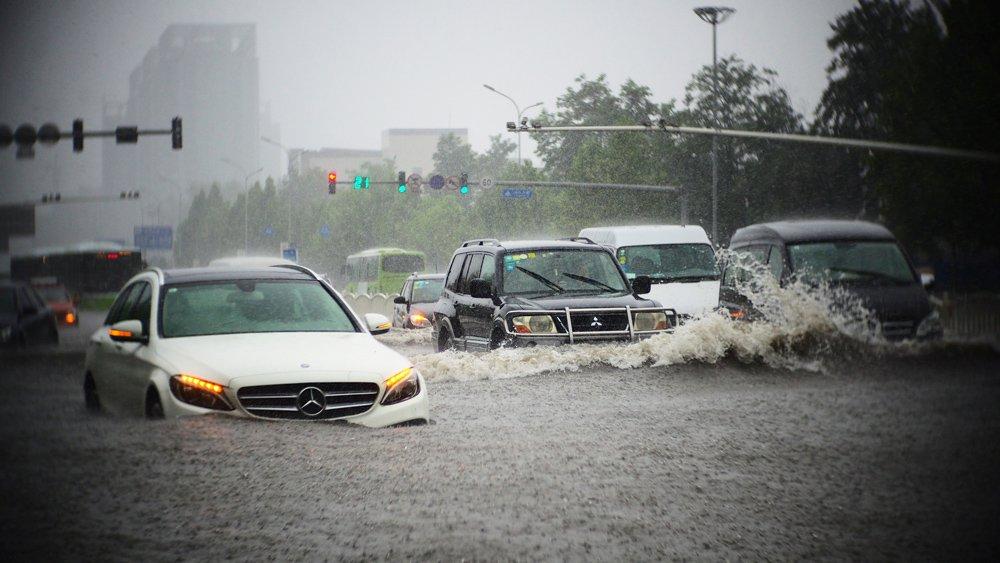 Thủy kích là hiện tượng thường gặp trong mùa mưa bão 1