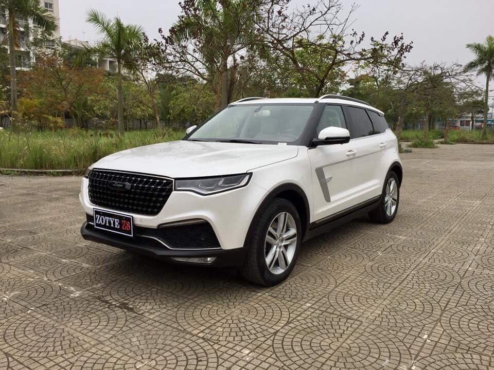 Soi thông số kỹ thuật Zotye Z8 - Crossover Trung Quốc nhái hàng loạt xe sang có gì?...