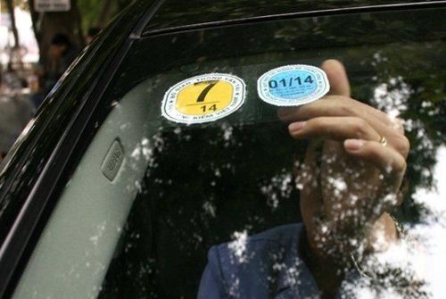 Cấp giấy chứng nhận và Tem kiểm định xe ô tô
