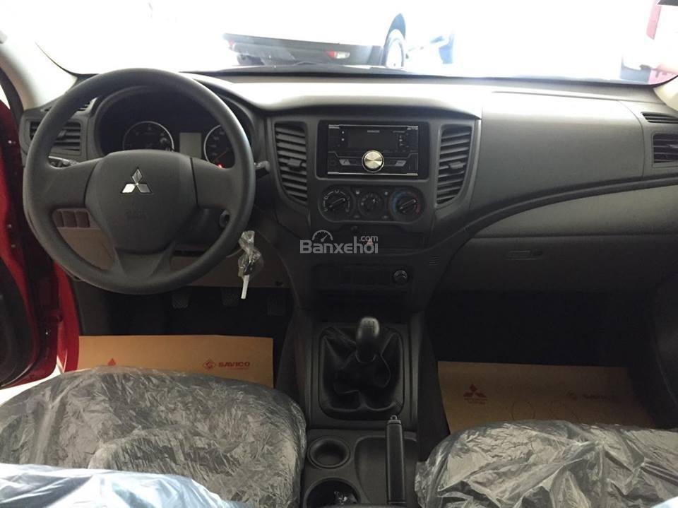 [Cực hot] Mitsubishi Triton nhập Thái nguyên chiếc, lợi dầu 7L/100km, giá cực ưu đãi, cho góp 80% (9)