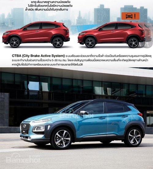 So sánh xe Honda HR-V và Hyundai Kona: SUV đô thị mới nào có thể lật đổ Ford Ecosport? 5.
