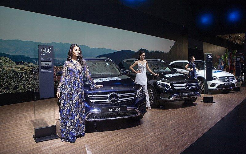 Triển lãm của Mercedes-Benz (2)