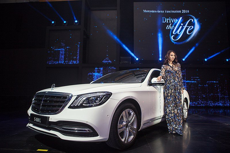 Triển lãm Mercedes-Benz Fascination - mẫu đẹp thu hút mọi ánh nhìn 10