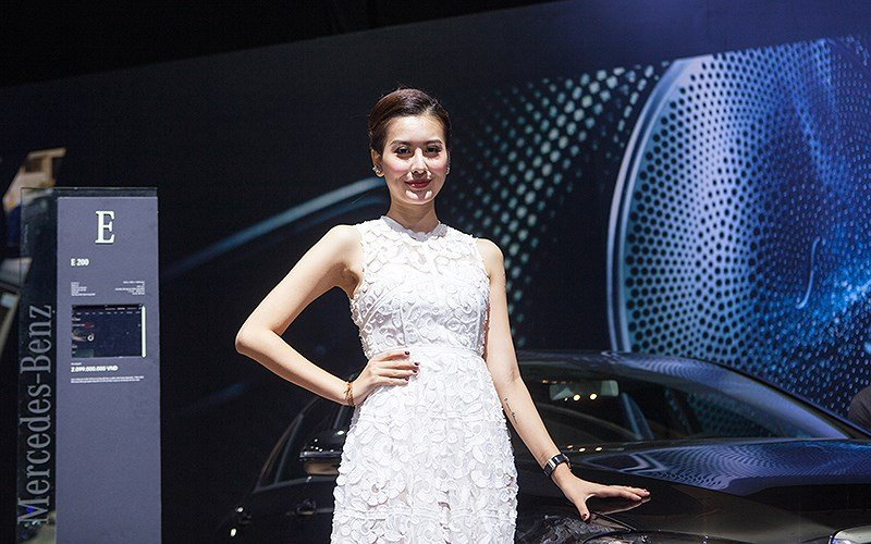 Triển lãm Mercedes-Benz Fascination - mẫu đẹp thu hút mọi ánh nhìn 6