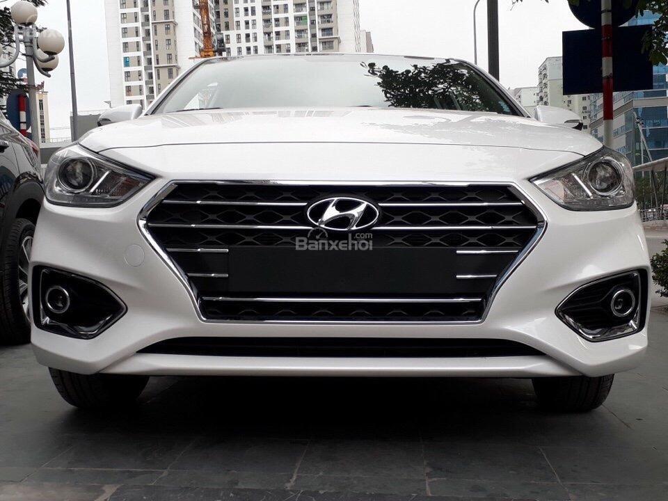 Hyundai Accent 1.4 AT sản xuất 2019, sẵn xe giao ngay KM 15 triệu - Liên hệ: 0919929923 (5)