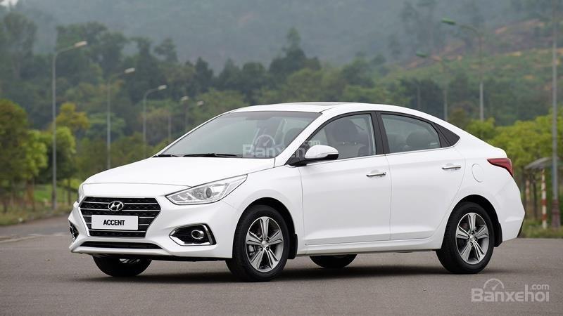 Hyundai Accent 1.4 AT sản xuất 2019, sẵn xe giao ngay KM 15 triệu - Liên hệ: 0919929923 (1)
