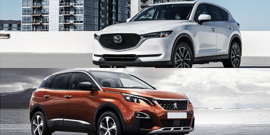 Đắt hơn 180 triệu đồng, Peugeot 3008 có tốt hơn Mazda CX-5 2018?.