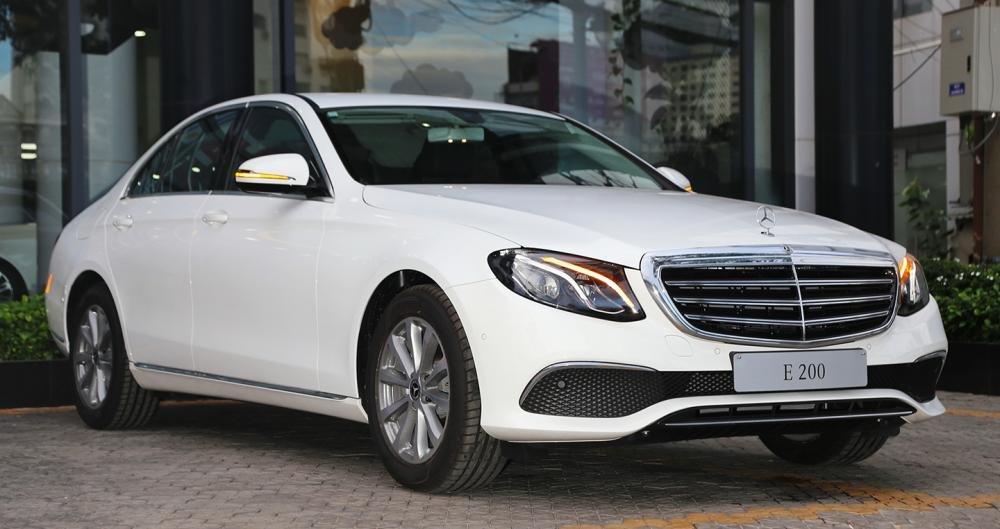 Mercedes-Benz E-Class 2018 sở hữu động cơ 2L