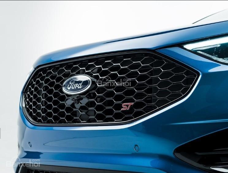 Đánh giá xe Ford Edge ST 2019: Lưới tản nhiệt.