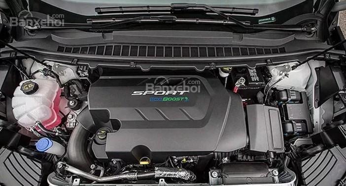 Đánh giá xe Ford Edge ST 2019: Xe được trang bị động cơ V6.