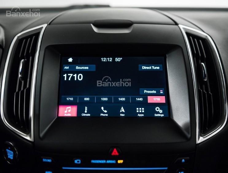 Đánh giá xe Ford Edge ST 2019: Hệ thống thông tin giải trí nâng cấp.