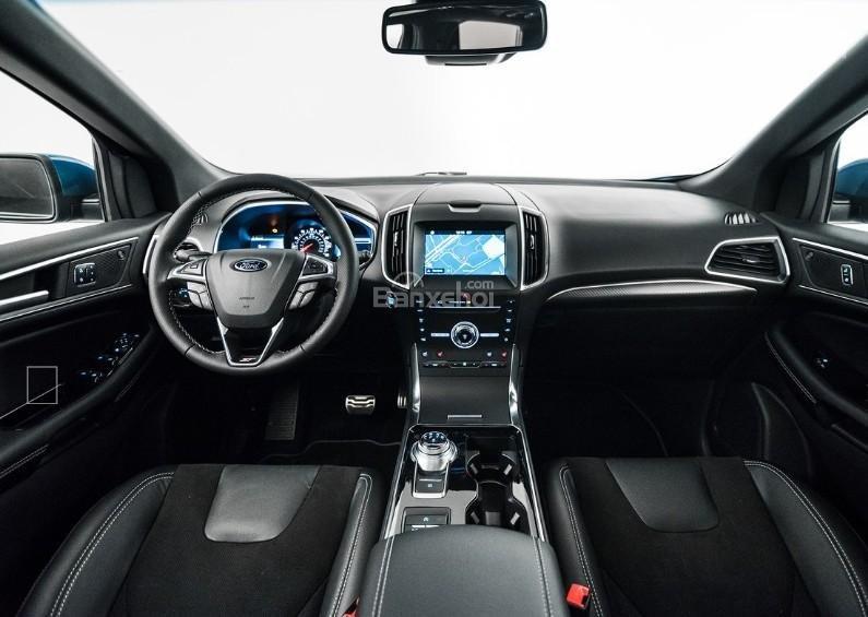 Đánh giá xe Ford Edge ST 2019: Nội thất xe.