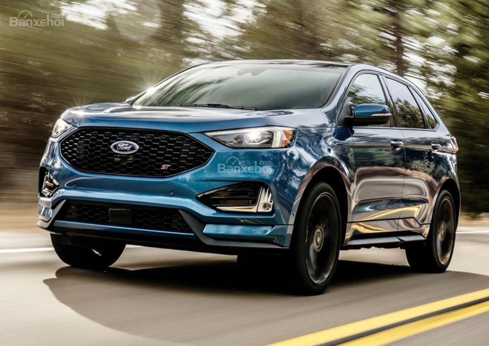 Đánh giá xe Ford Edge ST 2019.