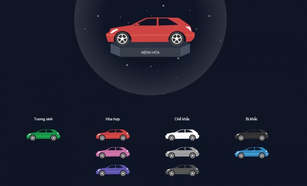 Chọn màu xe theo phong thủy để luôn bình an và gặp may mắn 6.