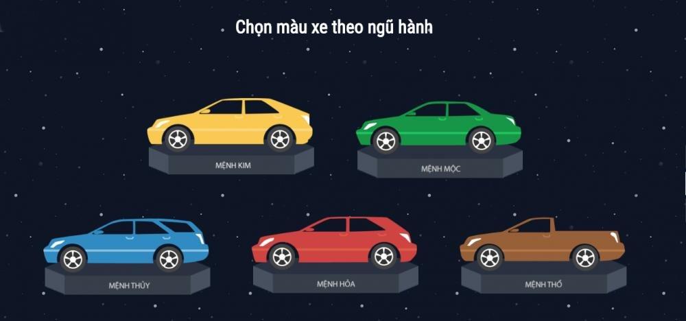 Chọn màu xe theo phong thủy để luôn bình an và gặp may mắn 8.