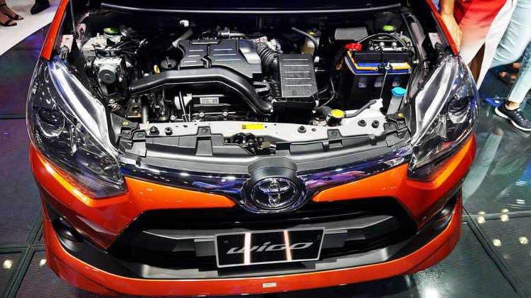 Toyota Wigo sở hữu sức mạnh nhỉnh hơn Chevrolet Spark một chút.