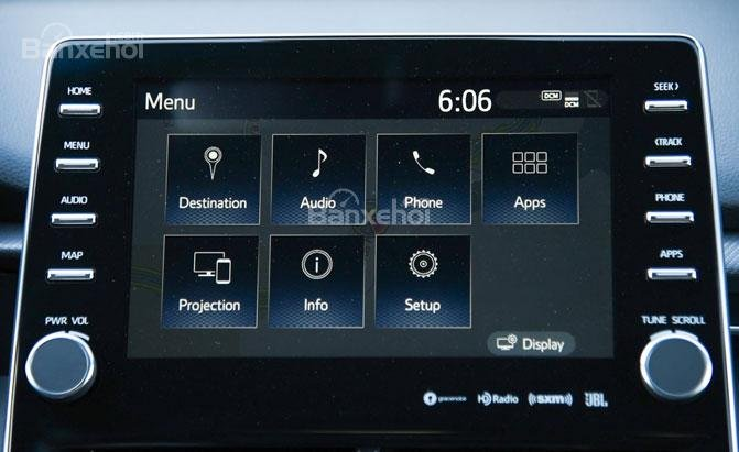 Hệ thống thông tin-giải trí trên xe ô tô