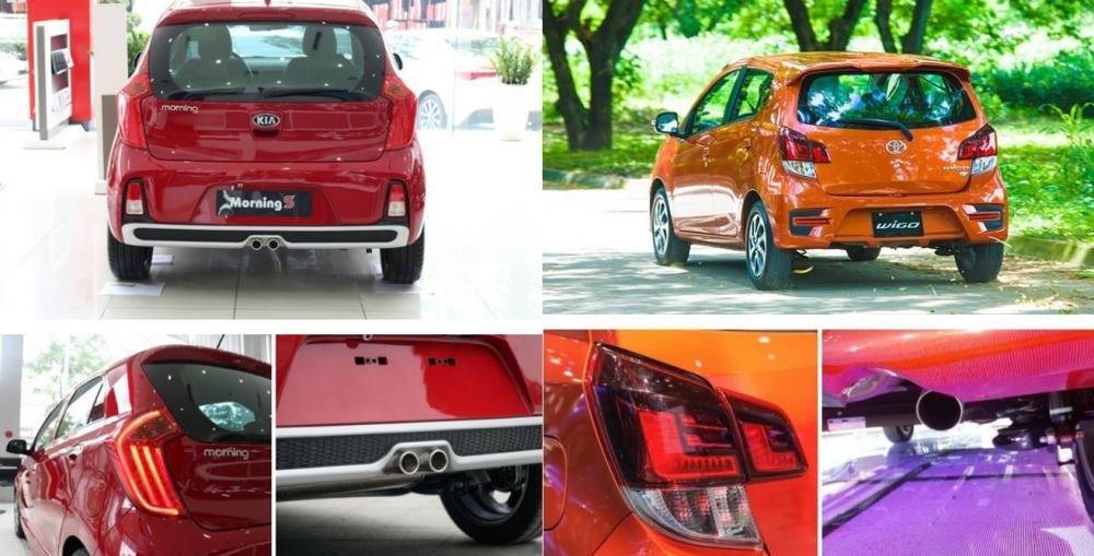 Xe cỡ nhỏ dưới 400 triệu đồng, chọn xe nhập khẩu Toyota Wigo 2018 hay xe lắp ráp Kia Morning 2018? 3.