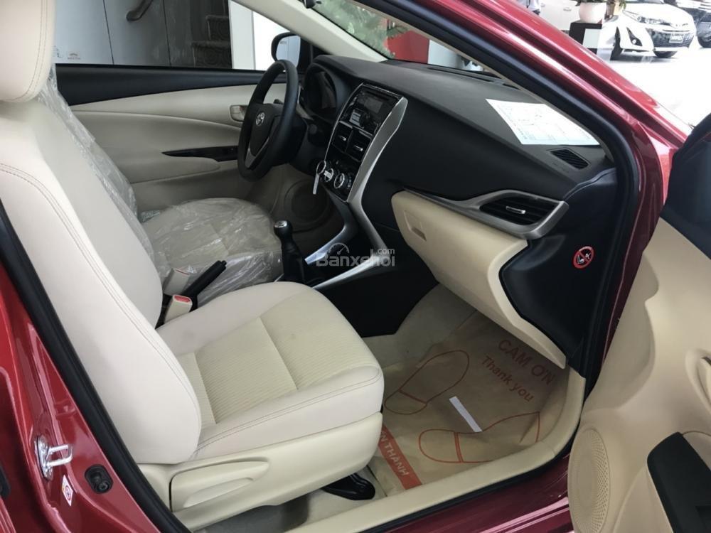 Bán Toyota Vios E-MT model 2018 có đủ màu, xe giao tận nơi bằng xe chuyên dùng KH ở tỉnh, vay 80% lãi suất 3.99%/năm-3