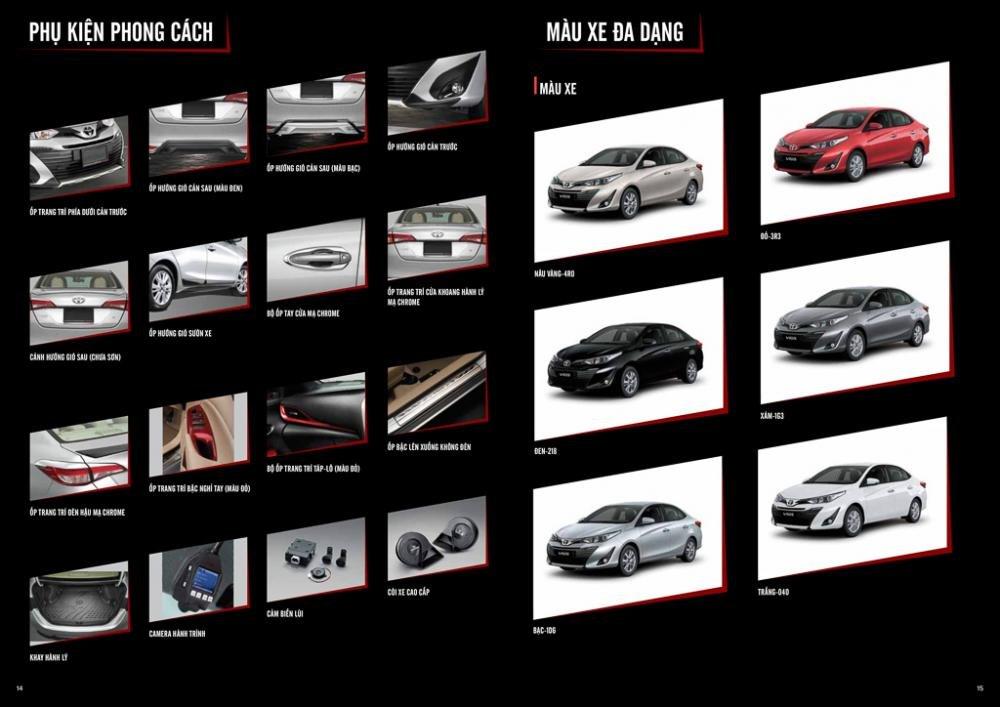 Ảnh chi tiết Toyota Vios 2019 thế hệ mới tại Việt Nam  a13
