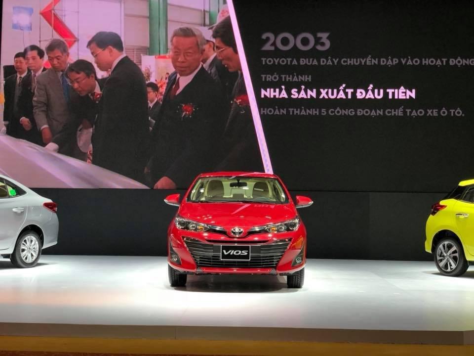 Thông số kỹ thuật Toyota Vios 2019 thế hệ mới vừa mở bán tại Việt Nam