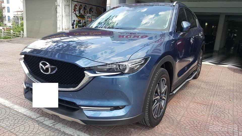 Bán Mazda CX5 2.5 2WD model 2018 màu xanh, siêu lướt biển tỉnh (2)