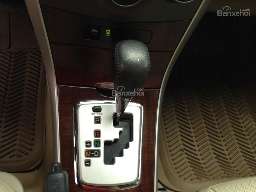Bán xe Corolla altis chính chủ chạy ít, còn như mới (10)
