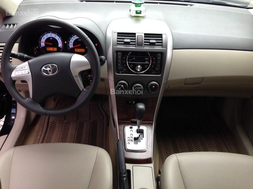 Bán xe Corolla altis chính chủ chạy ít, còn như mới (6)