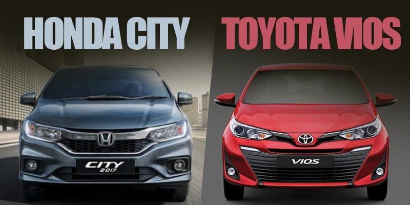Lên đời thế hệ mới, Toyota Vios 2018 có tốt hơn Honda City 2018?.