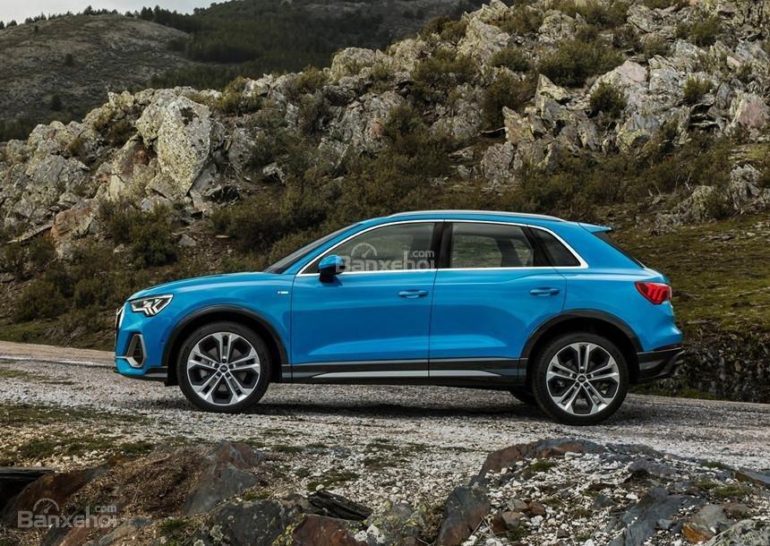 Đánh giá xe Audi Q3 2019: Thân xe.