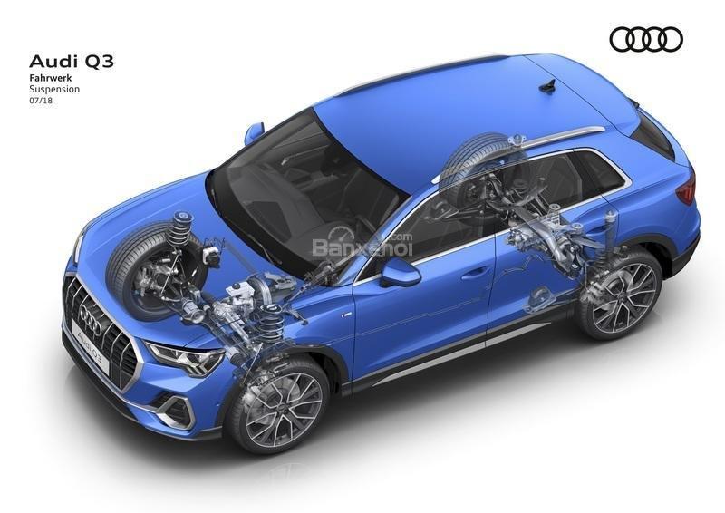 Đánh giá xe Audi Q3 2019: Phiên bản quốc tế sẽ có 4 tùy chọn động cơ.