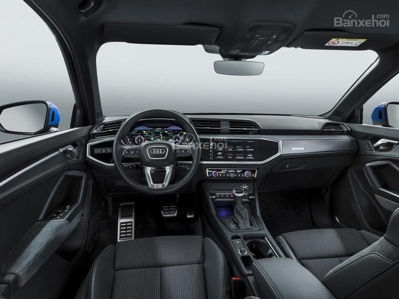 Đánh giá xe Audi Q3 2019: Nội thất xe.