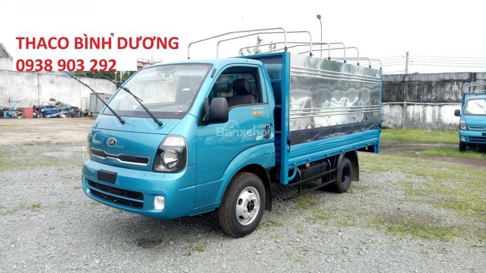 Cần bán xe tải Thaco Kia K250 thùng mui bạt 2490kg, mới 100% tại Bình Dương, giá chỉ 367 triệu, liên hệ 0938903292 (1)