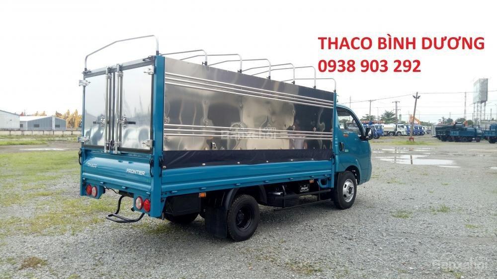 Cần bán xe tải Thaco Kia K250 thùng mui bạt 2490kg, mới 100% tại Bình Dương, giá chỉ 367 triệu, liên hệ 0938903292 (3)