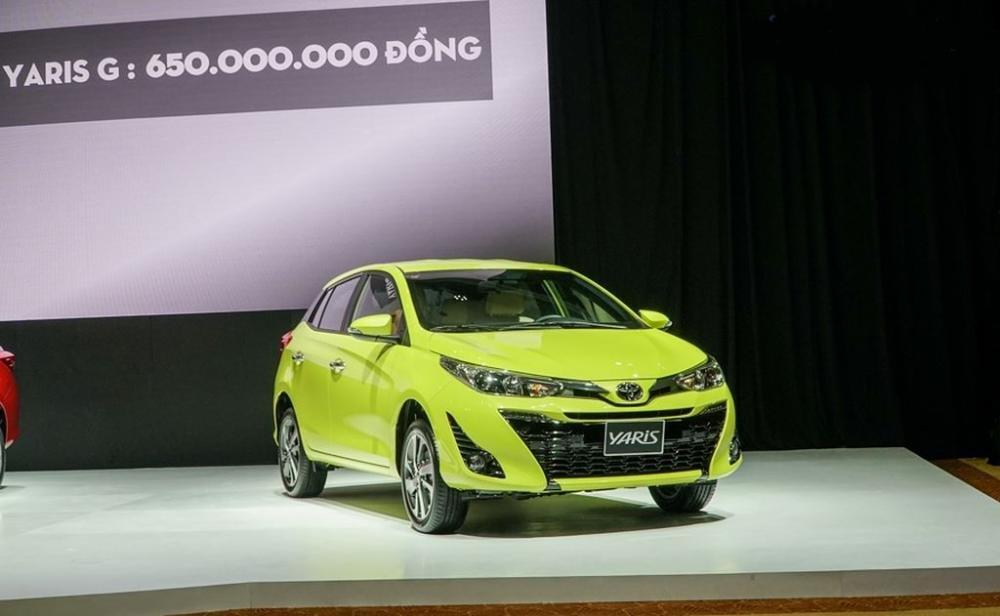 Hatchback hạng B dưới 650 triệu đồng, chọn Toyota Yaris 1.5 G 2018 hay Honda Jazz RS 2018? 1.