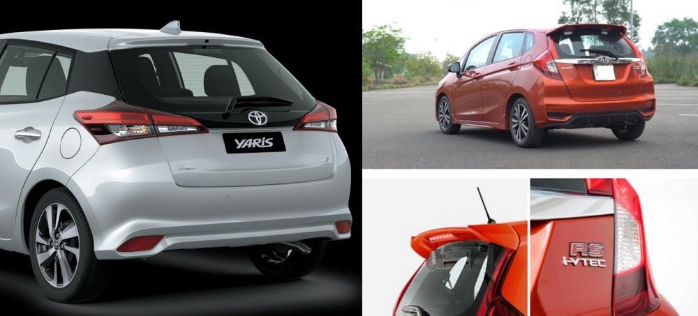 Hatchback hạng B dưới 650 triệu đồng, chọn Toyota Yaris 1.5 G 2018 hay Honda Jazz RS 2018? 7.