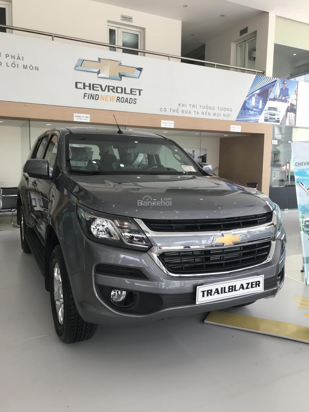 Bán ô tô Chevrolet Trailblazer 2018, xe nhập, giảm ngay 40 triệu, LH 0904016692-3