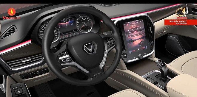 Hình ảnh nội thất của mẫu xe Vinfast bất ngờ được tiết lộ