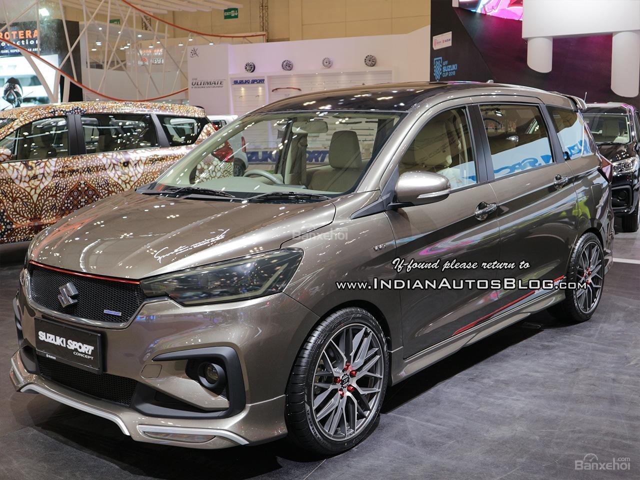 Thân xe Suzuki Ertiga Sport Concept.