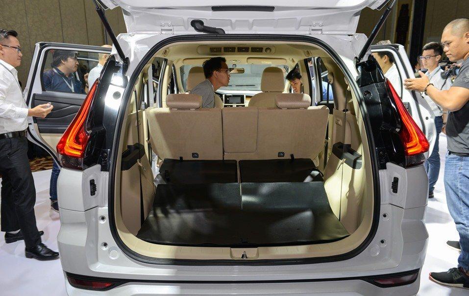 Không gian chứa đồ của Mitsubishi Xpander 2019 1.5 AT vô cùng rộng rãi 1