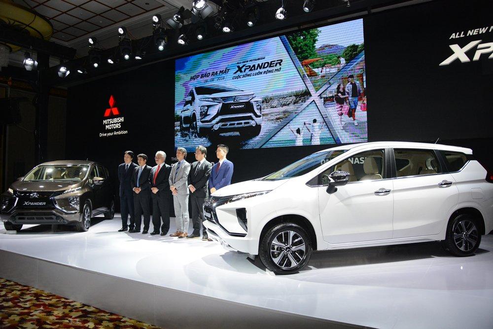 Đầu tháng 8/2018, Mitsubishi Xpander 2019 chính thức ra mắt khách hàng Việt Nam a1
