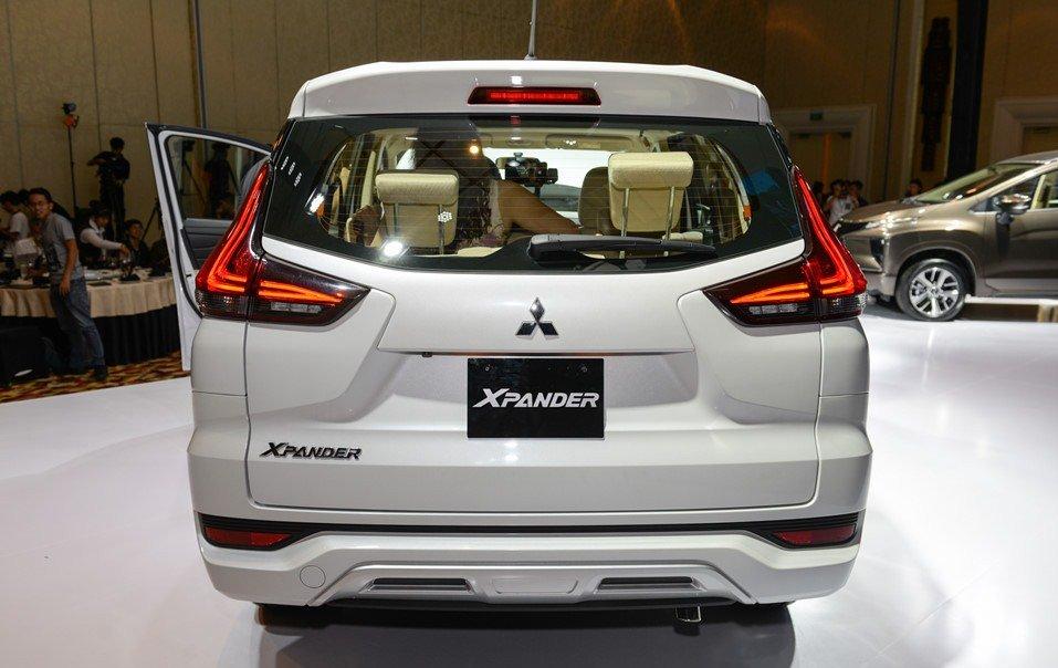 Đánh giá xe Mitsubishi Xpander 2019 1.5 AT về thiết kế phần đuôi