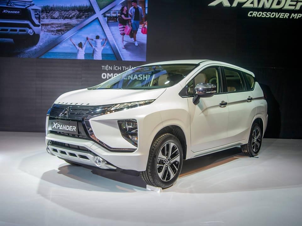 Mitsubishi Xpander 2019 1.5 AT tuân theo phong cách thiết kế Dynamic Shield quen thuộc a1