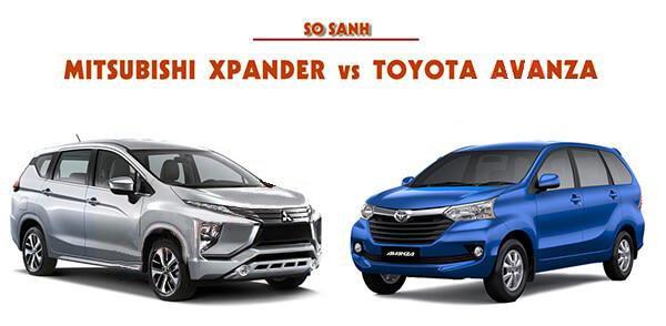 So sánh Mitsubishi Xpander và Toyota Avanza: Đại chiến MPV tân binh.