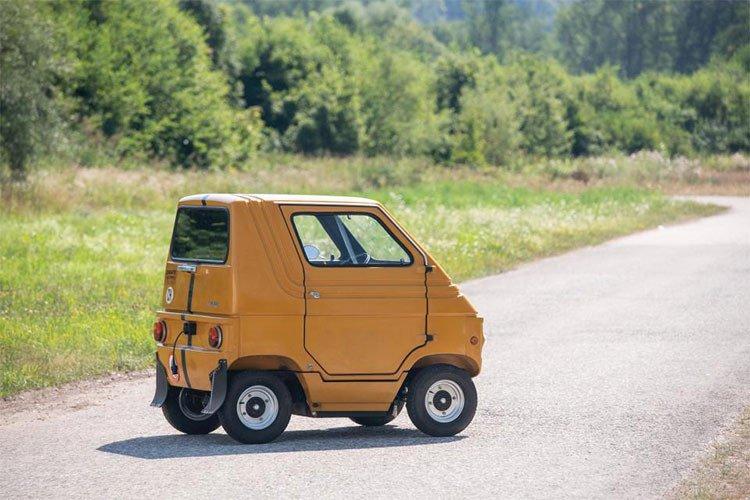 Ngắm 2 mẫu xe ô tô nhỏ nhất toàn cầu có giá chưa đến 150 triệu đồng 3.